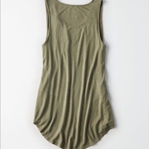 Green American Eagle Soft & Sexy tank top